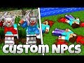 BATTLES, FACTIONS and MORE! - Custom NPCs Tutorial (Minecraft)