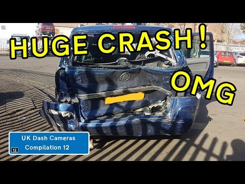 UK Dash Cameras - Compilation 12 - 2019 Bad Drivers, Crashes + Close Calls