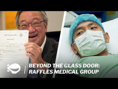 Learning from Executive Chairman of Raffles Medical Group   Beyond the Glass Door