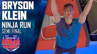 Bryson Klein takes on the Semis | Australian Ninja Warrior 2020