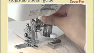 Распошивальная машина Janome Cover Pro - полное видео