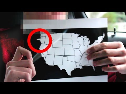 Time Traveler Reveals Map Of The U.S. in 2030