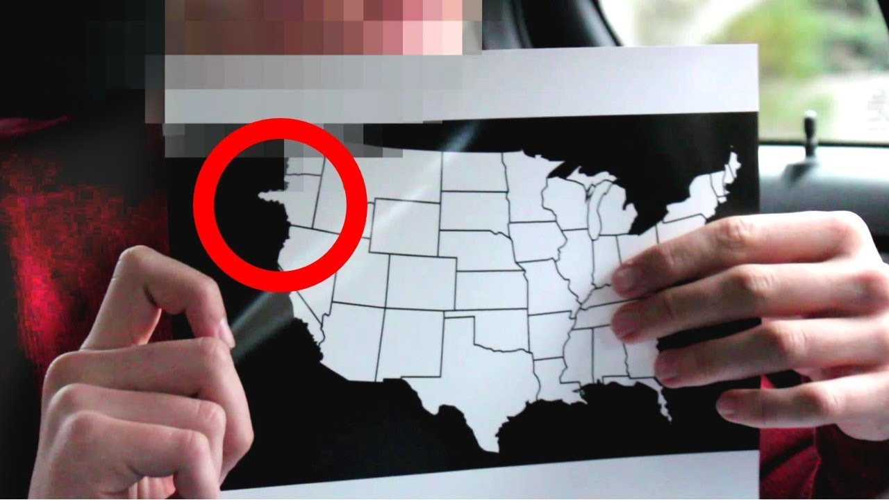 Time Traveler Reveals Map Of The Us In 2030 Youtube - Us-map-time
