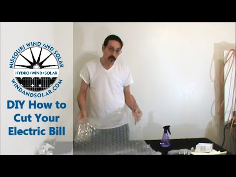 how to cut your electric bill in half Free ideas part one DI