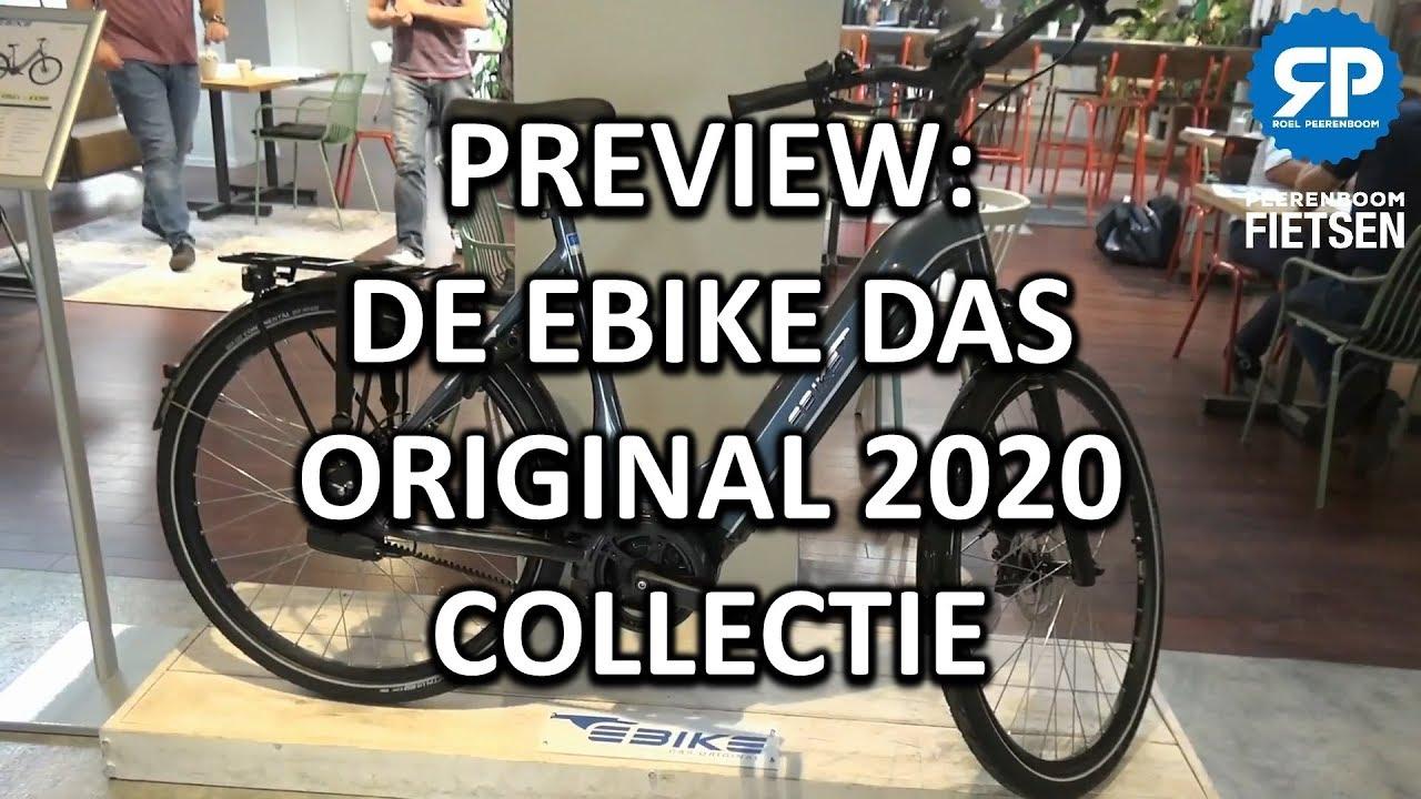 PREVIEW: DE EBIKE DAS ORIGINAL 2020 COLLECTIE