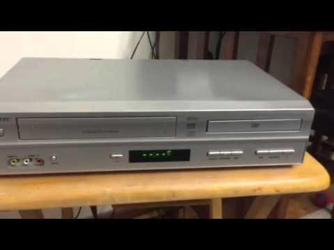 Memorex 6 head VCR with progressive scan DVD player