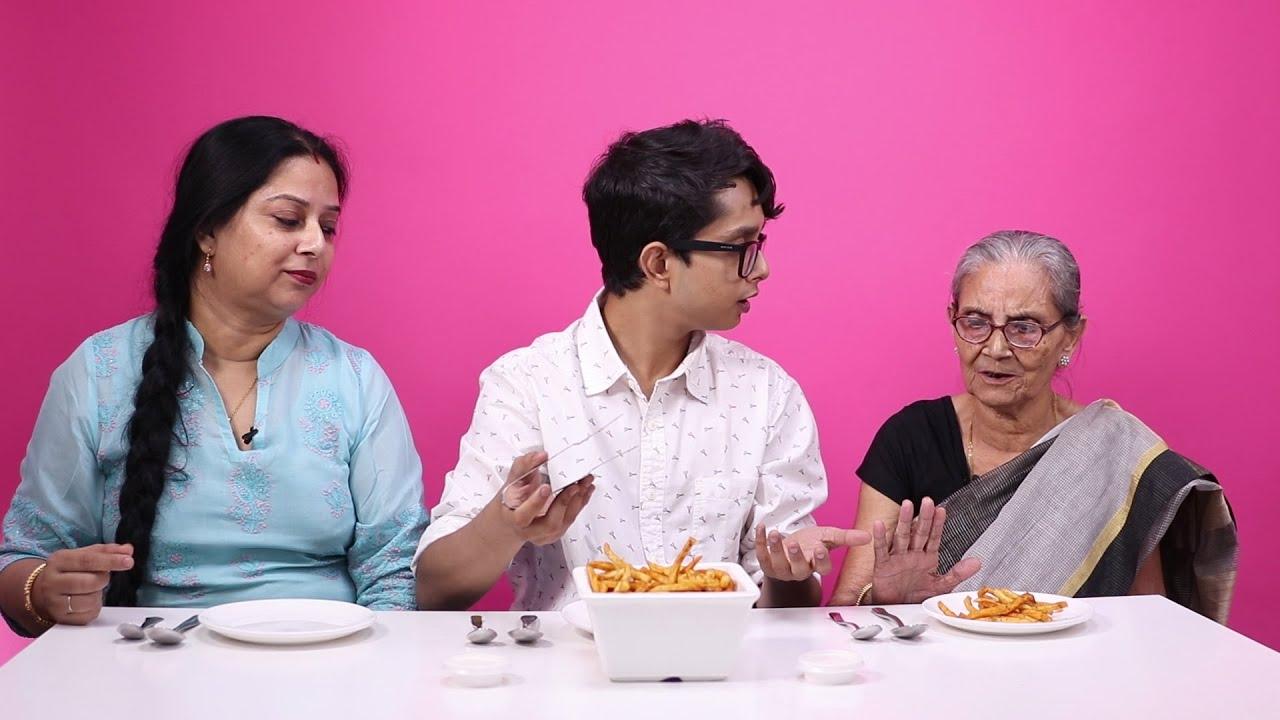 Three Generations Taste Test Their Favourite Dishes