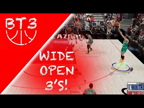 NBA 2K21 MYTEAM - BEST PLAYBOOK TO USE FOR WIDE OPEN THREES!