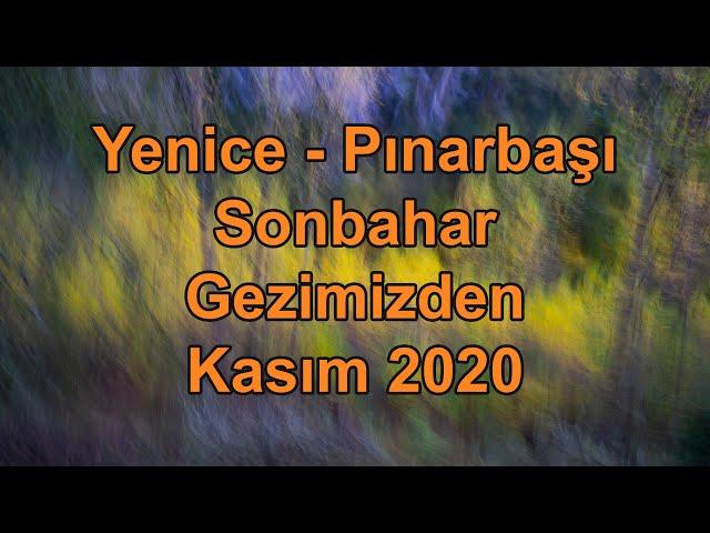 Yenice - Pınarbaşı Sonbahar gezimizden - Kasım 2020