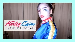 Harley Quinn Makeup Tutorial (ft. Careline Products) | Andrea B.