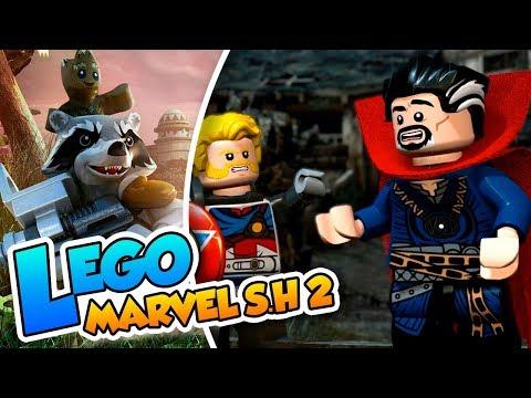 ¡Strange se hace un lio! - #03 - Lego Marvel Super Heroes 2 en español (PC) Naishys y Dsimphony