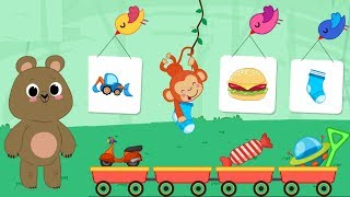 Kids  Brain Games | Kids Puzzle Game. Four New Games For Kids.
