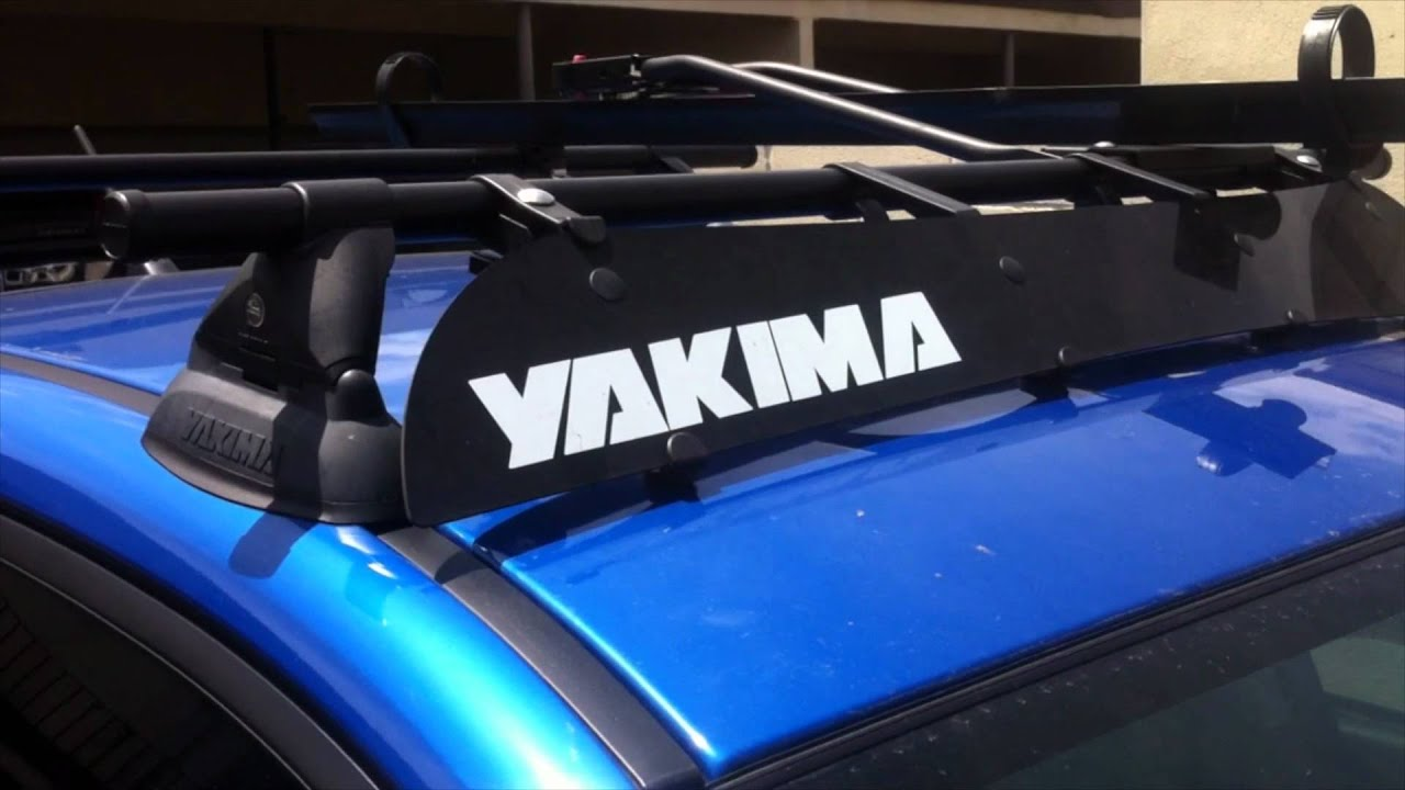 2011 SUBARU WRX YAKIMA ROOF RACK WALK AROUND