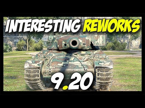 ► Interesting Reworks... Very Interesting... - World of Tanks Patch 9.20 Update Review