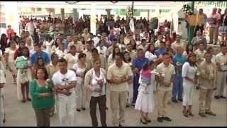 Celebran bodas masivas en penal de Chiconautla