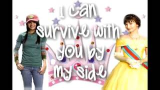 Two Worlds Collide - Demi Lovato (Princess Protection Program) (LYRICS)