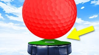 Playing With GIANT BALLS! - Golf It