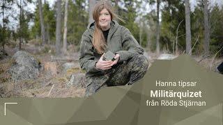 Militärquizet: frågespel om vapen och utrustning, krig och konflikt samt fältliv och permission