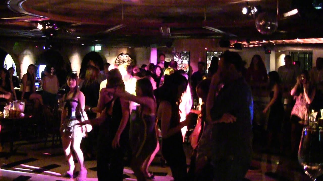 Spasso Nightclub At Grand Hyatt Hotel In Bangkok