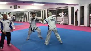 GM Alexandris - ITF Taekwondo-Do Punching class