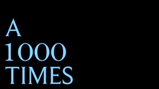 A 1000 Times By Hamilton Rostam Lyrics