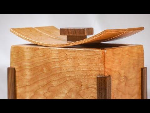 Wooden Cremation Urn