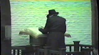 "2nd day of Chol Hamoed Pesach, 5745 | Mincha & Rally - ב' דחול המועד פסח (ח""י ניסן) תשמ""ה"
