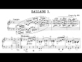 Chopin: The Four Ballades (Cho Seong-Jin)