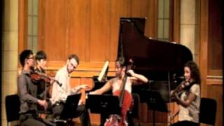 Mozart Piano Quartet No. 2 in E-flat Major, K. 493
