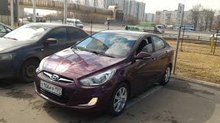 Осмотр Hyundai Solaris 2011 1.4AT