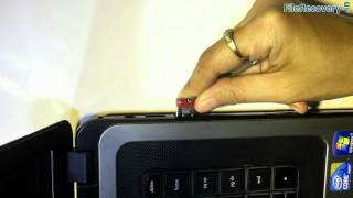 Easy to recover lost data from SanDisk 8GB USB Drive by using DDR Pen Drive Recovery Software
