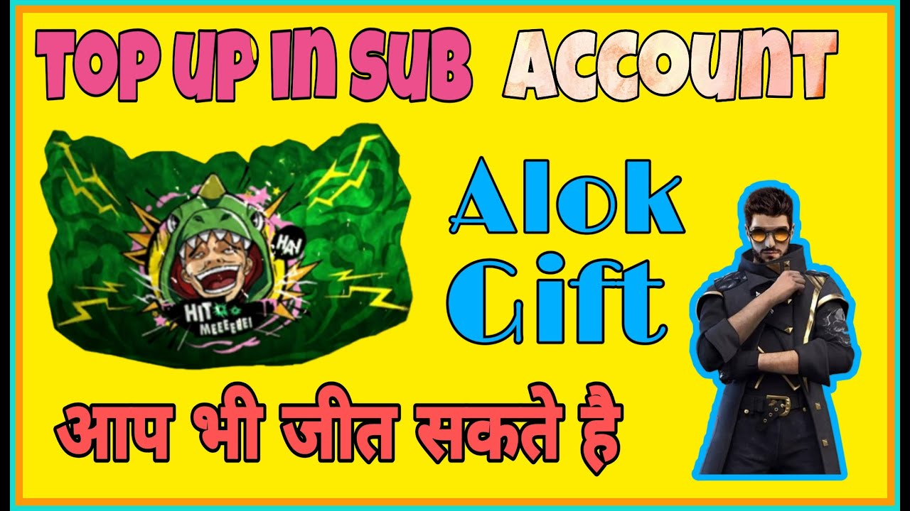 🔥 free fire 🔥 new top up event in subscriber account | purchase alok in subscriber account 💎💎💎💎