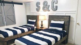 TWIN BED DIY- Under $50