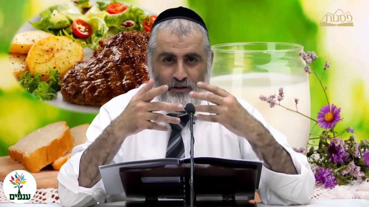 כשרות המטבח היהודי: בשר וחלב - הרב חיים דרשן HD