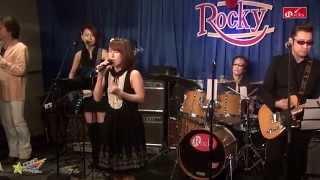 昭和アイドル歌謡バンド「藤本☆小夏とファンタジー」のライブにて 山口...