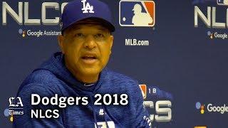 Dodgers NLCS 2018: Dave Roberts on catcher Austin Barnes' postseason play