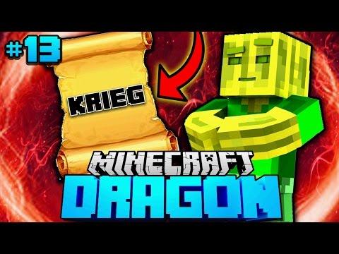 Chaosflo44 den KRIEG ERKLÄRT?! - Minecraft Dragon #13 [Deutsch/HD]