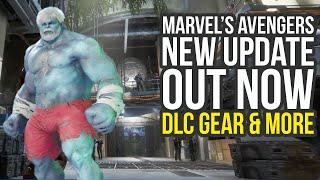 Marvel Avengers Game Update 1.06, Santa Hulk Skin, DLC Gear & More (Marvel Avengers Update 1.06)