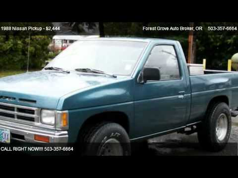 1988 Nissan Pickup - for sale in Forest Grove, OR 97116 - YouTube