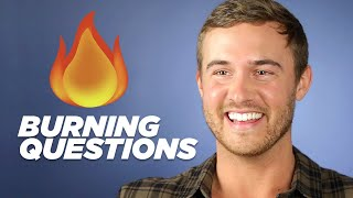 """The Bachelor"" Peter Weber Answers Your Burning Questions"