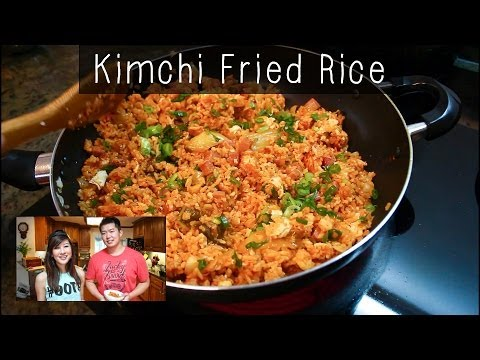 Chicken and Kimchi Fried Grain