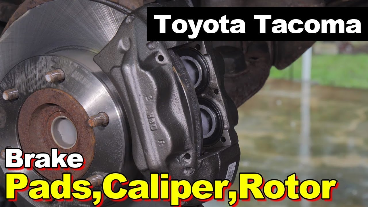 2004       Toyota    Taa Front   Rear Brake Pads  Rotors  Calipers  YouTube