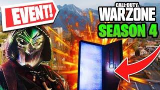 *NEW* WARZONE SEASON 4 EVENT! RED DOORS + WARZONE TANK?! | 4 NEW GUNS (Call of Duty Warzone)