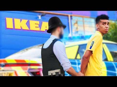 FAKE EMPLOYEE PRANK In IKEA