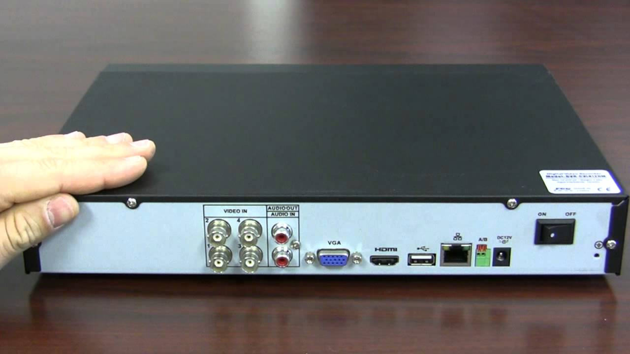 What Is Hdcvi  Dvr-cvi4120m Can Record 720p Over Coax