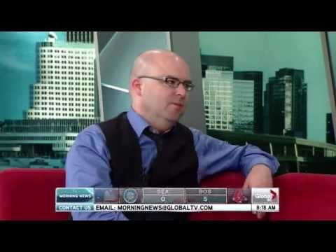 Mark Fewer interviewed on Global Morning News
