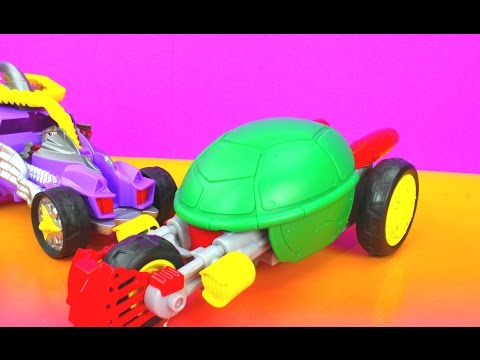 Nickelodeon TMNT Teenage Mutant Ninja Turtles Half Shell Heroes Stealth Bike with Raph