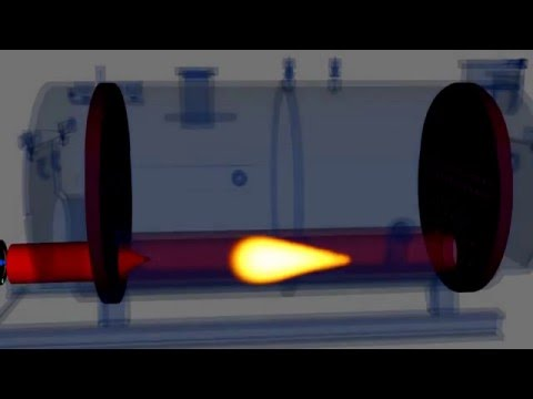 Fire boiler animation - YouTube