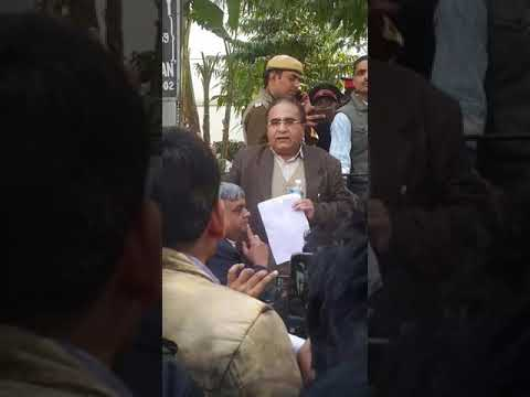 Protest against icai by ca STUDENTS (sunil maggoo speech)