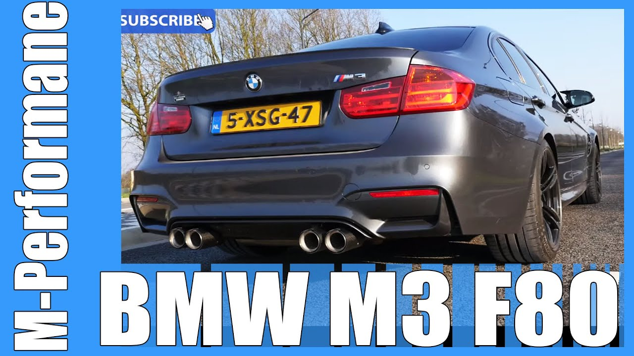 bmw m3 f80 m performance exhaust pure acceleration sound. Black Bedroom Furniture Sets. Home Design Ideas